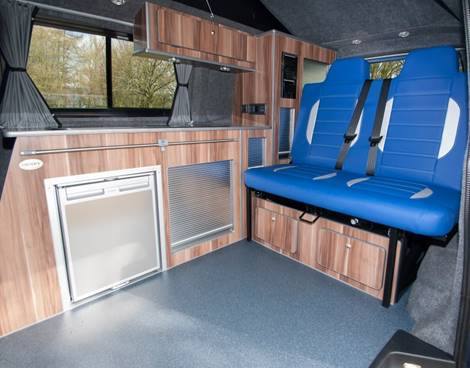 Interior surfaces in the transport conversion sector