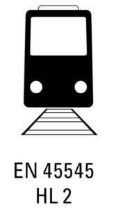 RAIL EN 45545 HL 2