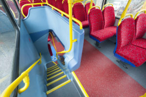 Altro Transflor Chroma installed on Abelio Bus