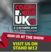 COACH and BUS EXHBITION Banner - Stand M12