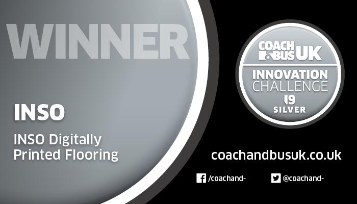 INSO Innovation reward logo -Bus & Coach 19